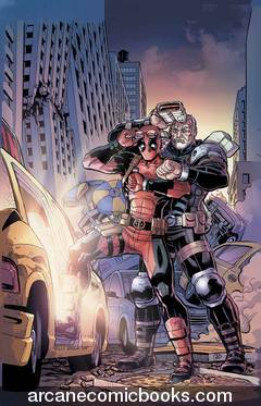 Deadpool and Cable Split Second #2 (of 3)